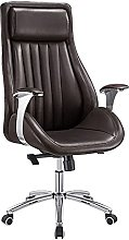 JIAH Office Chair PU Leather Office Chair Back