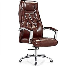 JIAH Office Chair Simple Home Leather Leisure