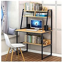 JIAJBG 31 inch Computer Desk with Hutch and