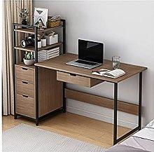 JIAJBG Computer Desk with CPU Stand, Laptop Desk