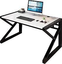 JIAJBG Computer Desk with Sturdy Frame Student