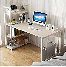 JIAJBG Computer Desk Workstation with 3 Tier