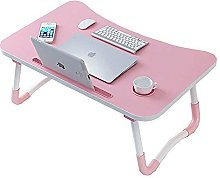 JIAJBG Foldable Laptop Desk, Bed Tray Lap Desk,