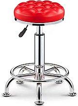 JIAJBG Iron Art Bar Counter Chair,Rotate Lifting