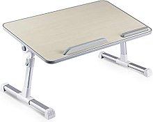 JIAJBG Laptop Desk for Bed, Foldable Lap Desk,