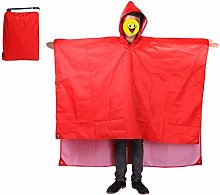 JIAJBG Raincoat Backpack Waterproof Rain Coat with