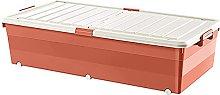 JIAJBG Storage Box with Wheels Under The Bed,