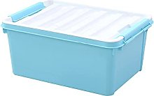 JIAJBG Under Bed Storage Box, Thickened with Lid