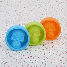 Jiali Large Ice Cube Tray Pudding Mold 3D Skull