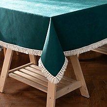 JIALIANG Christmas tablecloth Heavy duty cotton