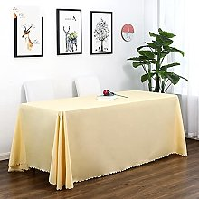 JIALIANG Easy Wipe  Tablecloth Supported by