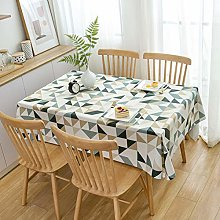 JIALIANG PVC Table Cloth Wipeable Plastic
