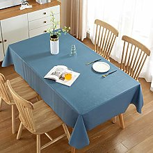 JIALIANG Tablecloth, plastic tablecloth, can be