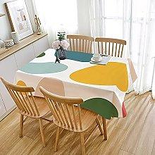 JIALIANG Wipe Clean Tablecloth-Luxury Waterproof