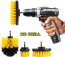 JIAN YA NA Scrub Brush Drill Attachment Kit -