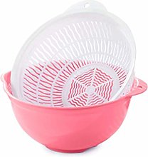 JIANGAA Fruit and Vegetable Washing Basket, Double