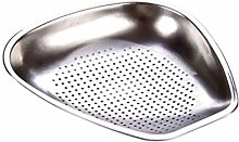 JIANGAA Kitchen Drain Basket, Stainless Steel