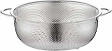 JIANGAA Kitchen Stainless Steel Drain Basket for