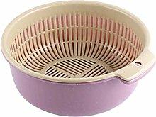 JIANGAA Kitchen Washing Basket, Household Washing