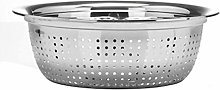 JIANGAA Kitchen Washing Basket, Stainless Steel