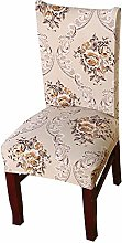 JIANGAA Stretch Chair Desk Seat Cover 6Pcs
