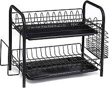 JiangKui Cutlery Shelf 2/3-Layer Dish Drying Shelf