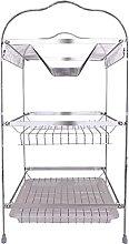 JiangKui Dish Drying Shelf Dishwasher 3 Tiers Dish