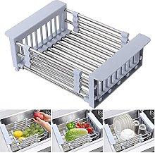JiangKui Dish Drying Shelf Expandable Dish Drying
