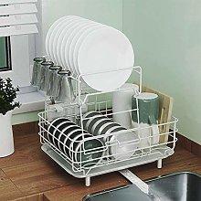 JiangKui Dish Drying Shelf Kitchen Bowl Rack