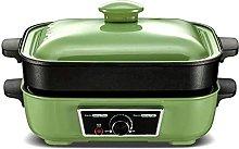 JiangKui Electric Grill Indoor Hot Pot Frying Pan