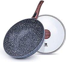 JiangKui Maifan Stone Non-Stick Frying Pan Wok