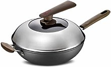 JiangKui Non-Stick Frying Pan Induction Wok with