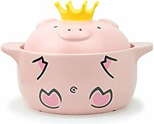JiangKui Soup Pot Stew Pot Saucepan Stock Pot Pink