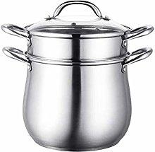JiangKui Stew Pot Saucepan Stock Pot 2-Layer