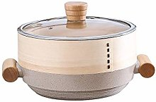 JiangKui Stew Pot Saucepan Stock Pot Medical Stone