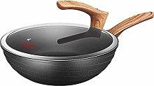 JiangKui Wok Non-Stick Frying Pan Home