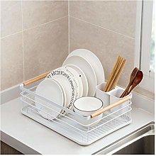 JIANGQIAO Kitchen Dish Drying Rack Tableware