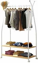 JIAO PAI Simple Coat Rack, Metal Horizontal Bar