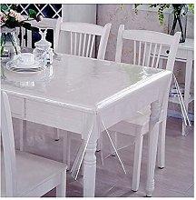 JIAOD Pvc Table Cloth Clear Plastic Table