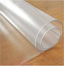 JIAOD Table Film Clear PVC Tablecloth Clear Table
