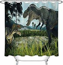 JIAXIN Ancient fierce tyrannosaurus Bathroom