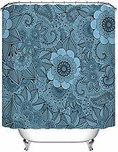JIAXIN Artsy flower leaf mandala Bathroom