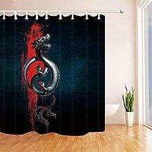JIAXIN Asian dragon image Bathroom decorative