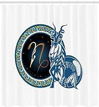 JIAXIN Astrology Fabric Bathroom Decor Set Set