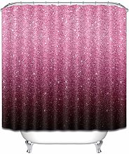 JIAXIN Fabric Set Gradient Glitter Pattern Bath