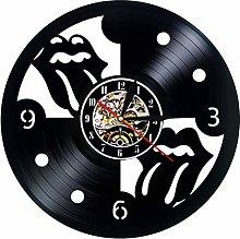 jiaxu Vinyl Record Wall Clock Modern Design The