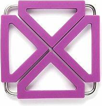 JIAYAN Foldable Square Kitchen Insulation Hot Pad