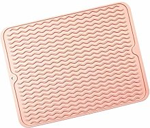 JIAYAN Silicone Dish Drying Mats Thickness Heat