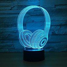 JIE KE 3D Illusion Lamp, 3D Night Light for Boys