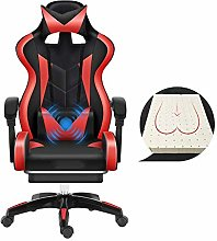 JIEER-C Chair Racing Style High-Back Leather